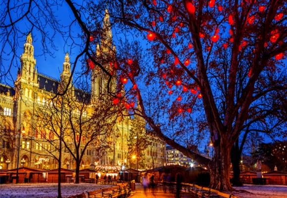 Χριστούγεννα στη Βιέννη